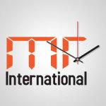 mr international logo design
