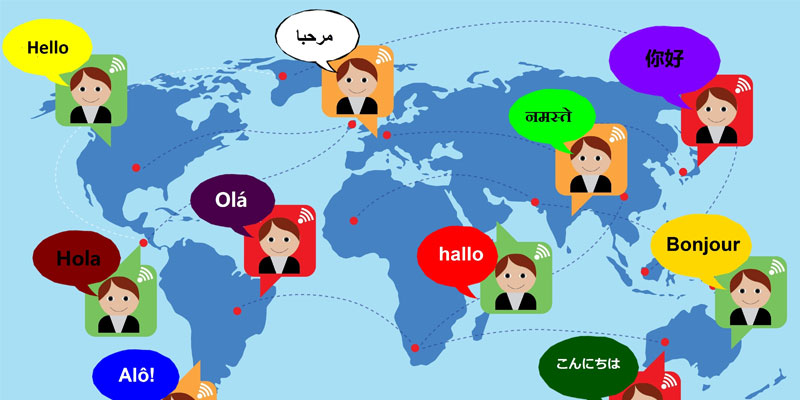 how to create a multilingual website