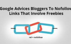 Google Advices Bloggers To Nofollow Links That Involve Freebies