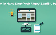 How To Make Every Web Page A Landing Page?