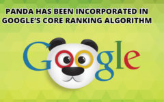 Panda Has Been Incorporated In Google's Core Ranking Algorithm
