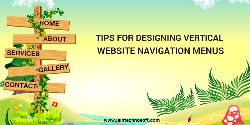 Tips To Design Vertical Website Menus