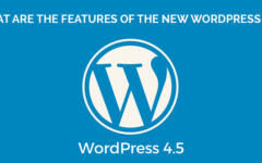 What Are The Features Of The New WordPress 4.5?