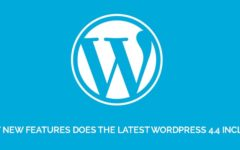 What New Features Does The Latest WordPress 4.4 Include?
