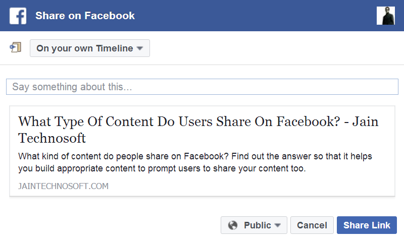 What-Type-Of-Content-Do-Users-Share-On-Facebook