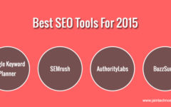 What Are The Best SEO Tools For The Year 2015?