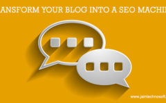 Make Your Blog Work As A Good SEO Tool
