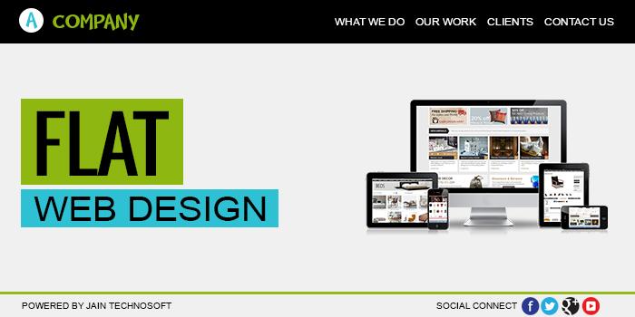flat-web-designing