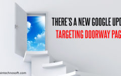 Google Plans To Launch New Doorway Page Penalty Algorithm