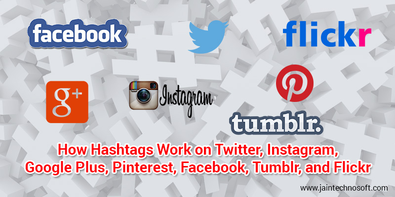hashtags in social media