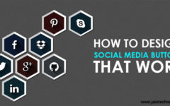 Guidelines For Designing Effective Social Media Buttons
