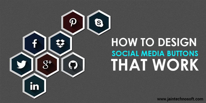 How To Design Social Media Icons Jain Technosoft Web Design Company In India