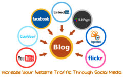 Increase Your Website Traffic Through Social Media