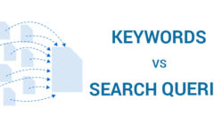 How do Queries And Keywords Differ?