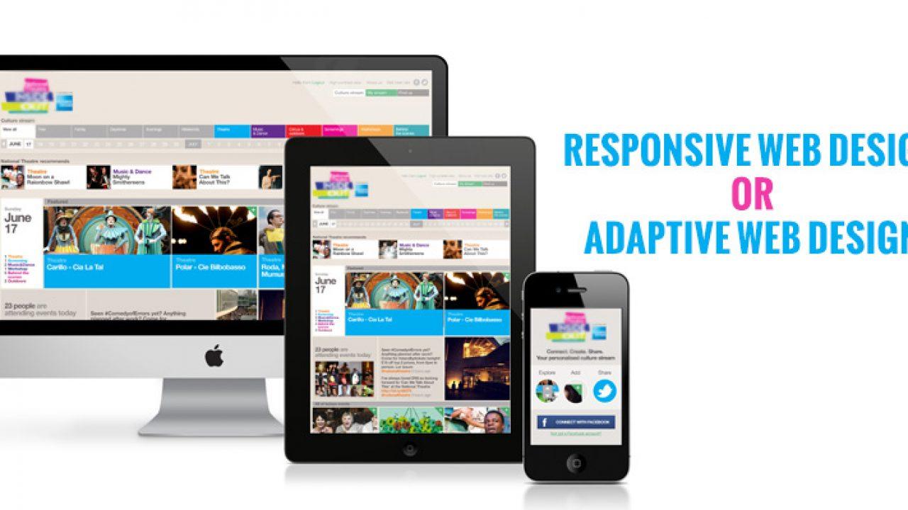 Which Is Better Responsive Or Adaptive Web Design Jain Technosoft