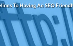 Guidelines To Having An SEO Friendly URL