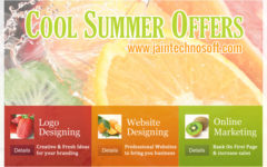 Summer Discounts @ Jain Technosoft