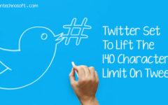 Twitter Set To Lift The 140 Character Limit On Tweets