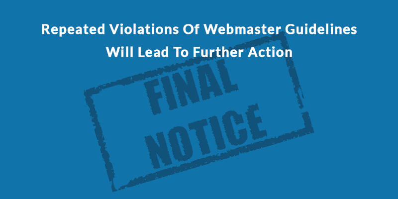 webmaster-guidelines-violation